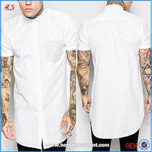 Wholesale Fancy Design White Cotton Plain No Brand T-Shirt Latest Shirt Designs For Men, Mens Formal Polo Shirt