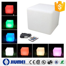 High quality with 16 Color Changing 40x40cm LED Cube Rechargeble LED Light