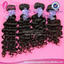 Import and export unprocessed malaysian hair, hot selling hair pieces, beauty deep wave