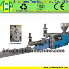 new fasion PP woven bags pelletizer units| PE PP film granulating recycling machine plant| plastic recycling machine