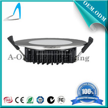 Round Cool White Brush Steal 10W 13W dimmable SMD LED downlight with AU plug cutout size 90mm China Factory SAA CE ROHS