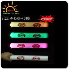 flashing foam baton/LED light up foam stick/cheer up LED foam stick