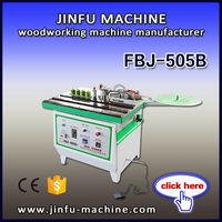 FBJ-505B double side gluing curvilinear manual edge banding machine for woodworking