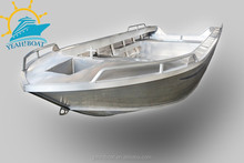 hot sale cheap aluminum basic open dinghy boat for fishing and work