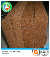 Coconut fiber pad mattress
