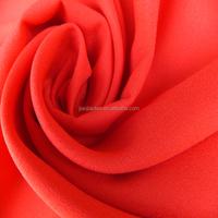 Shaoxing chiffon fabric textile polyester chiffon fabric dyed chiffon fabric textile from China