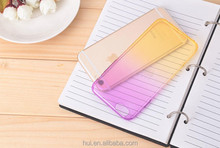 factory custom multi color tpu phone case for iPhone 5/6 ultra thin cellphone case
