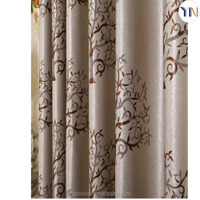 Exquisite jacquard curtain, jacquard blackout fabric, fashion luxury drapes curtains newly design 2015 Hangzhou supplier