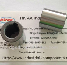 hardened steel hex motor shaft bushing