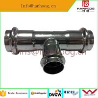 sanitary pipe fitting quick clamp pipe fittings with great price