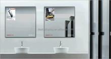 2015 China Magic Mirror Light Frame, Frameless Motion Sensor Light Box with led light