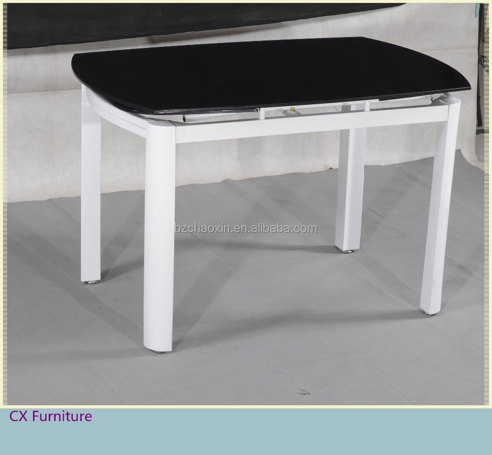 10mm Black Tempered Glass Dining Table With Extension  : 10mm black tempered glass dining table with from alibaba.com size 1000 x 924 jpeg 103kB