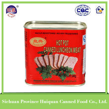 China Wholesale Custom canned pork luncheon meat 340g