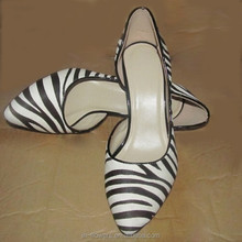 China supplier 30-50 pairs Small order OEM ODM Leather Woman Shoes