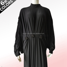 2014 new batwing sleeve design kaftan muslim women clothes wholesale for Islamic ladies