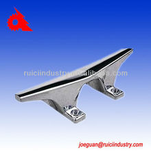 marine hardware stainless steel deck cleat