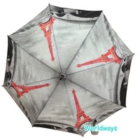 NU-181 2015 New Style Iron Tower Pattern Popular Umbrella