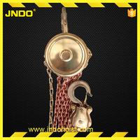 Chain Hoist spark resistant hand tool , copper alloy aluminum / beryllium manual hoist , hand tools