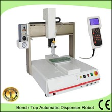 Single component 3 axis movement silver paste dispensing machine