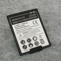 China OEM battery mobile phones with 1900mah battery for samsung galaxy