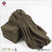 High quality polar fleece blanket pure color blanket
