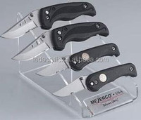 Knives Clear Acrylic Knife Display Stand