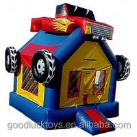 inflatable Monster Truck Bounce House