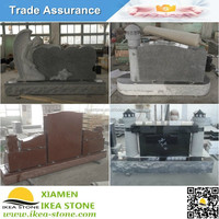 Stone Heart Shape Carved Monument Angel Lighthouse Granite Tombstone Price
