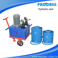 Portable Hydraulic Jack on Quarry