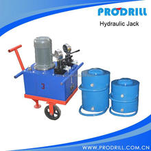 Portable Hydraulic Jack on Quarry