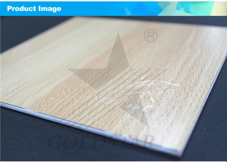 Alucbond Wood Grain Decorative ACP ACM Wall Panel (2)