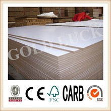Made in China Melamine Faced MDF Green Board 16mm /Melamine Faced MDF/Melamine Laminated MDF Board, White Laminated Melamine MDF