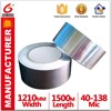 antiflaming and Repair of damaged A53 Aluminum Foil Tape with Silver