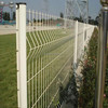 First Grade PVC Curvy Welded Wire Mesh Fence Panel From Zhuoda Company