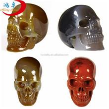 Bulk of craved mix gemstone carving skull