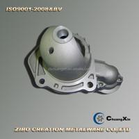cast aluminum starter motor parts/china manufacture starter housing