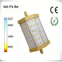 High quality r7s 8w led pin light