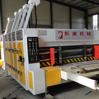 banana corrugated carton printer and slotter can be choose die cutter machine