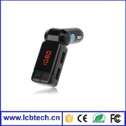 Factory 2015 New fm transmitter car with MP3 player, fm transmitter car mp3 player, fm transmitter car