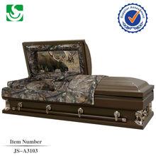 chinese manufacturer sold umber wholesale casket