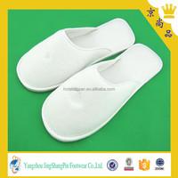 velvet women cheap washable hotel slippers
