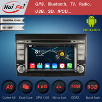 2 Din Car DVD for Fiat Bravo - android 4.2-4.4' processor 1.6ghz 1RAM auto radio car dvd for fiat bravo