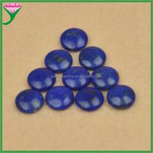 ingrosso 8mm round fondo piatto cabochon lapislazzuli pietra naturale