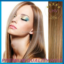 AAAAAA grade Hot Sale Top Quality hair extension 100% remy hair Double Drawn clip in extensions
