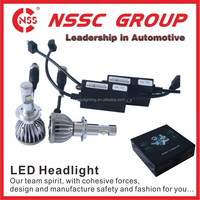 Standard Testing 4 LEDs Set H4-38w-5000lm Lumileds Car LED Headlight Bulbs