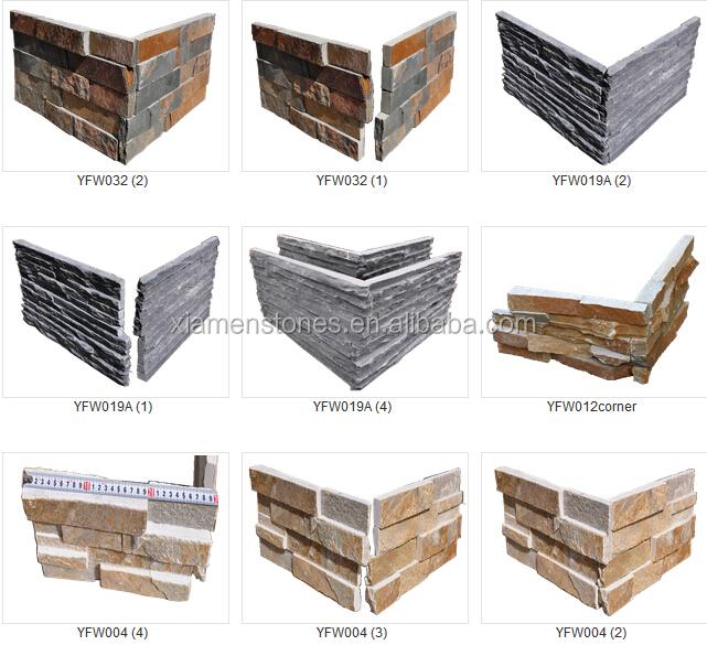 Cheap Natural Quartz Exterior Ledge Stone Wall Cladding Corner Buy Wall Cladding Corner Ledge