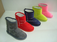 brightful microfibre girls ankle boots slip on warm eva sole winter boots for women