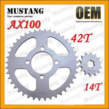 for Suzuki AX100 Motorcycle Parts Chain Sprocket