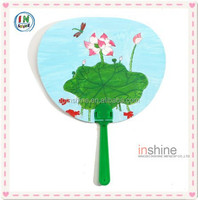 New diy paper hand fan , carft accessory for kids