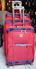 factory stock travel trolley suitcase 4pcs 2 wheels stock travel trolley suitcase